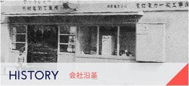 HISTORY 会社沿革
